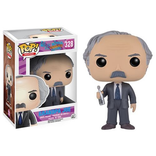 Willy Wonka Grandpa Joe Pop! Vinyl Figure