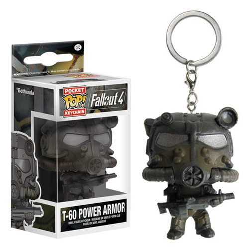 Fallout T-60 Power Armor Pop! Vinyl Figure Key Chain