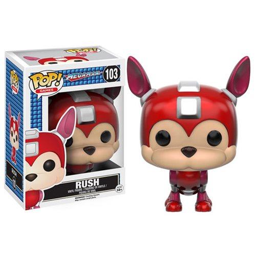 Mega Man Rush Pop Vinyl Figure Funko Mega Man Pop