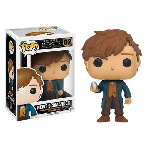 Fantastic Beasts Newt Scamander with Egg Pop! Vinyl Figure
