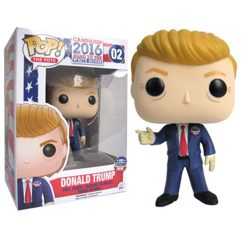 Donald Trump Pop Vinyl Figure Funko Historical