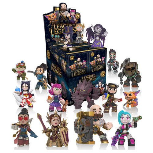 League of Legends Mystery Minis Series 1 Random 4-Pack