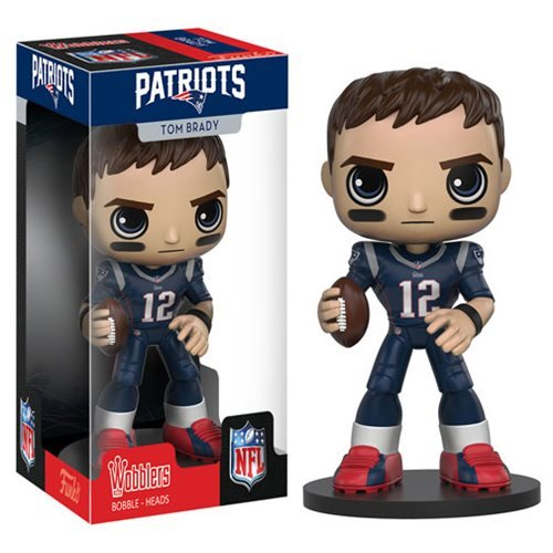NFL Tom Brady Bobble Head