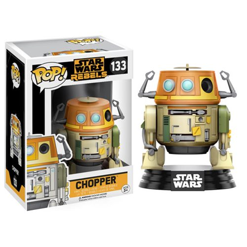 Star Wars Rebels Chopper Pop! Vinyl Bobble Head