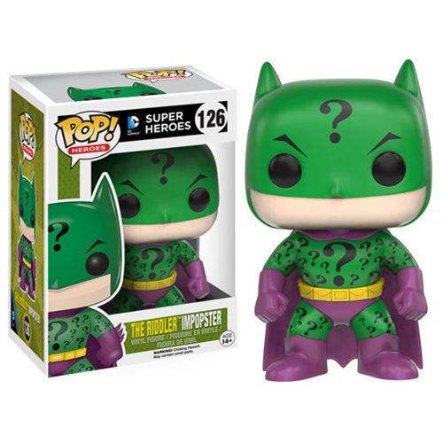 Batman Impopster Riddler Pop! Vinyl Figure