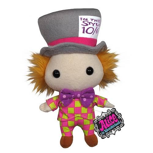 Alice in Wonderland Mad Hatter Plush