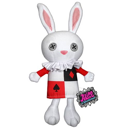 Alice in Wonderland White Rabbit Plush