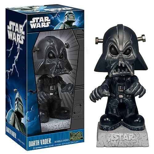 Star Wars Monster Mash-Ups Darth Vader Bobble Head