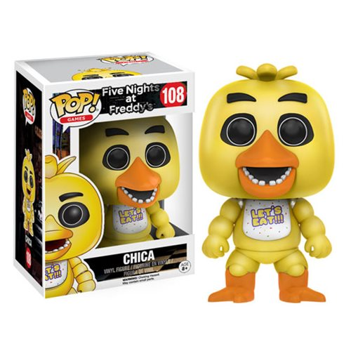 Five Nights at Freddy's Chica Pop! Vinyl Figure -  Funko