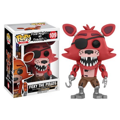 Five Nights at Freddy's Foxy The Pirate Pop! Vinyl Figure