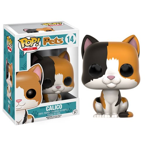 Pop Pets Calico Pop Vinyl Figure Funko Animals Pop