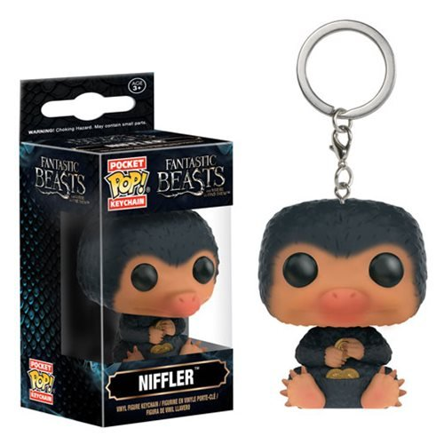 Fantastic Beasts Niffler Pocket Pop! Key Chain