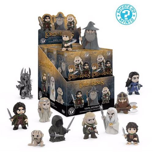 The Lord of the Rings Mystery Minis Display Case