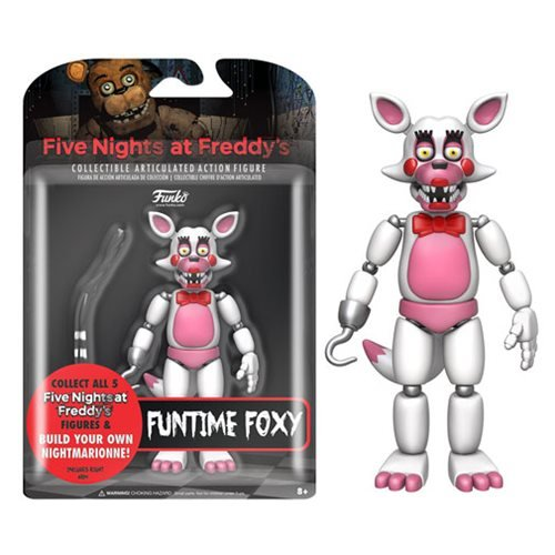 Five Nights At Freddy S Funtime Foxy 5 Inch Action Figure