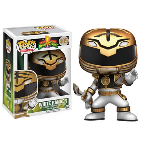 Mighty Morphin Power Rangers White Ranger Pop Vinyl