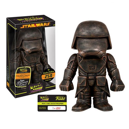 Star Wars Iron Age First Order Snowtrooper Hikari Figure