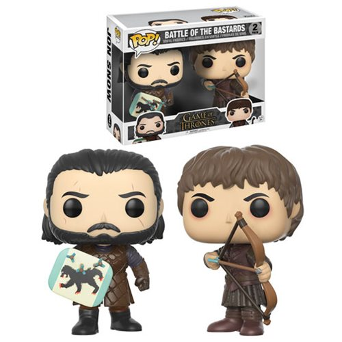 Game of Thrones Battle of the Bastards Pop! Figure 2-Pack