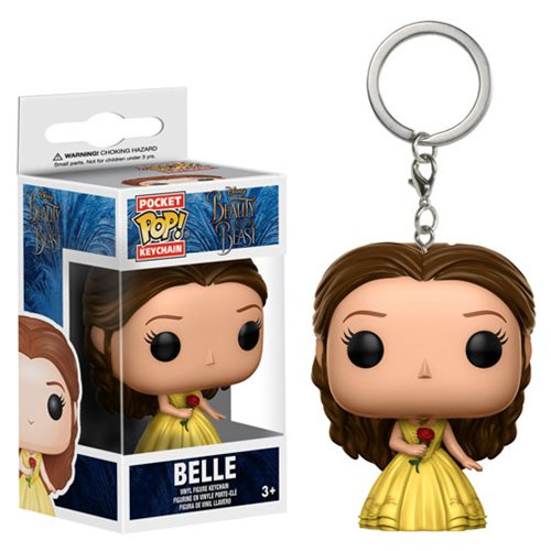 Beauty and the Beast Live Action Belle Pocket Pop! Key Chain