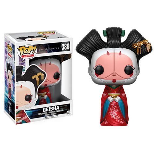 Ghost in the Shell Geisha Pop! Vinyl Figure