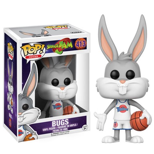 space jam bugs bunny pop vinyl figure funko space jam pop vinyl figures at entertainment. Black Bedroom Furniture Sets. Home Design Ideas