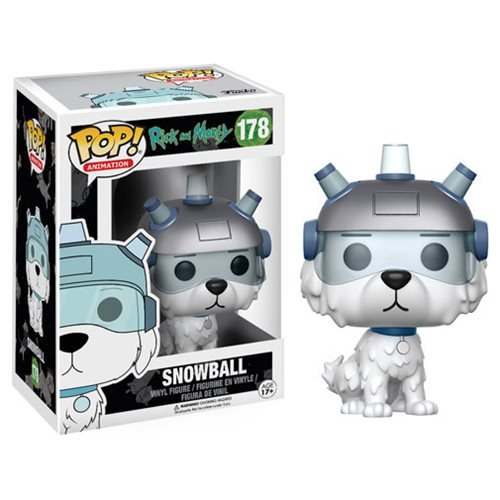 Rick and Morty Snowball Pop! Vinyl Figure