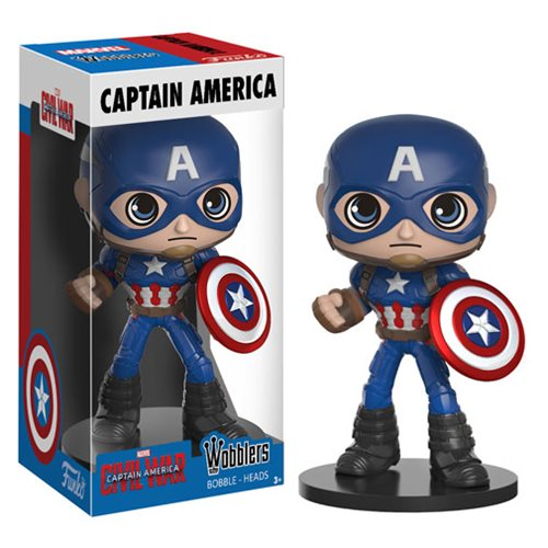 Captain America: Civil War Captain America Bobblehead