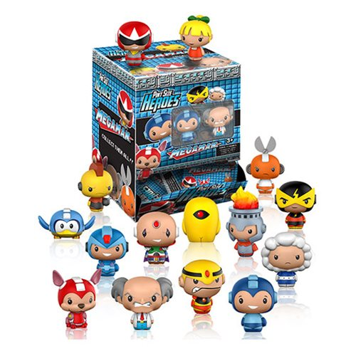 Mega Man Pint Size Heroes Mini-Figure Random 6-Pack