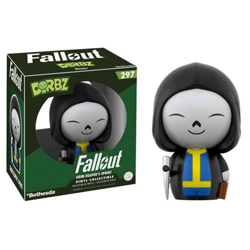 Fallout Vault Boy Grim Reaper Dorbz Vinyl Figure