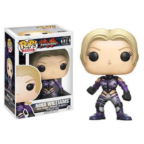 Tekken Nina Williams Pop Vinyl Figure Funko Tekken