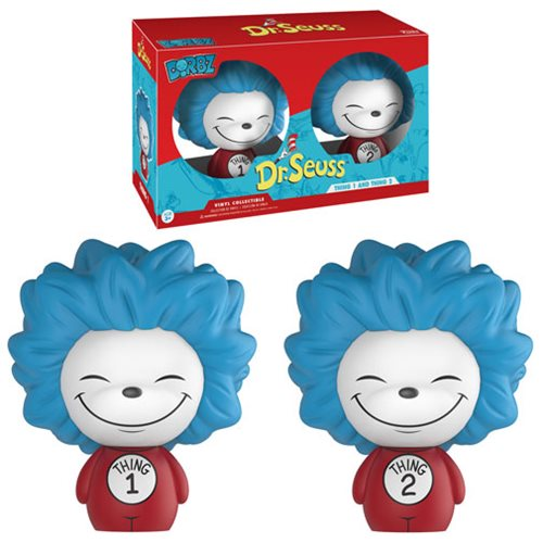 Dr. Seuss Thing 1 and Thing 2 Dorbz Vinyl Figure 2-Pack