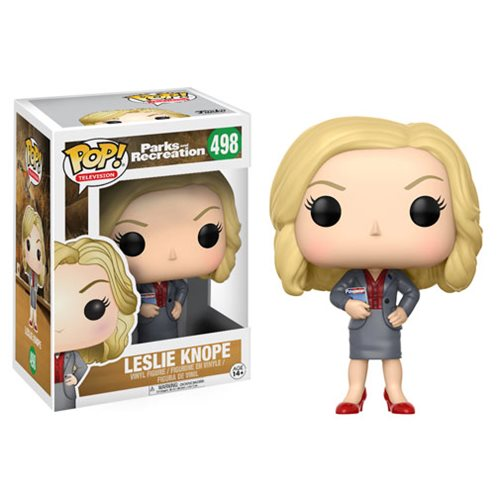 Parks and Recreation Leslie Knope Pop! Vinyl Figure #498