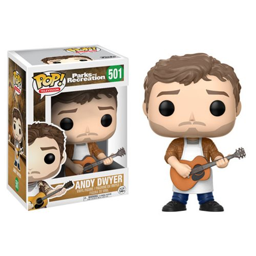 Parks and Recreation Andy Dwyer Pop! Vinyl Figure #501