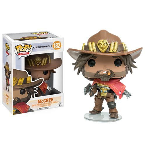 Overwatch Mccree Pop Vinyl Figure Funko Overwatch
