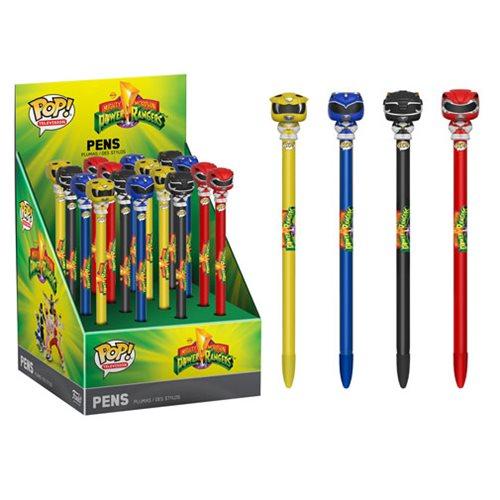 Mighty Morphin' Power Rangers Pop! Pen Display Case