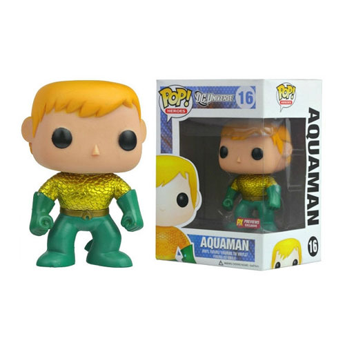 Aquaman New 52 Previews Exclusive Pop! Vinyl Figure