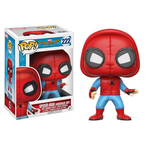 Spider-Man: Homecoming Homemade Suit Pop! Vinyl Figure