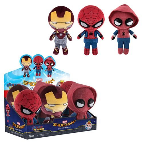 Spider-Man: Homecoming Hero Plushies Display Case