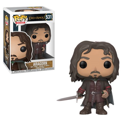 The Lord of the Rings Aragorn Pop! Vinyl Figure #531