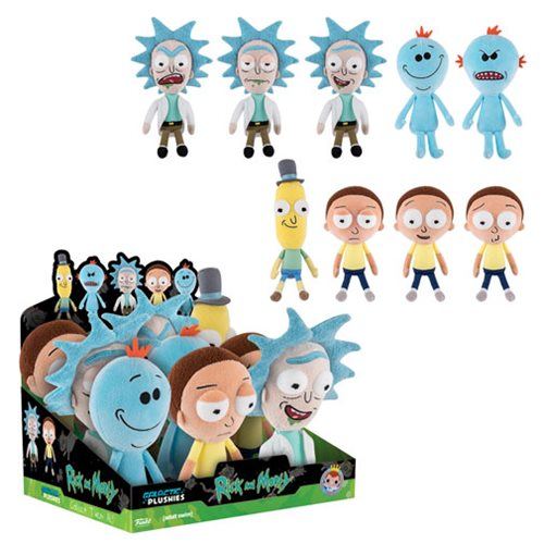Rick and Morty Galactic Plushies Display Case