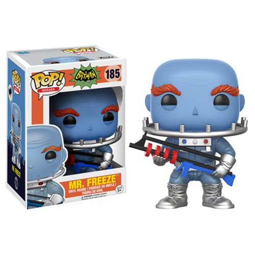 Batman 1966 TV Series Mr. Freeze Pop! Vinyl Figure