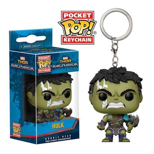 Thor Ragnarok Hulk Pocket Pop! Key Chain