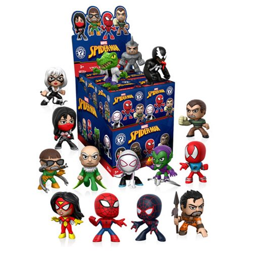 Spider-Man Classic Mystery Minis Display Case