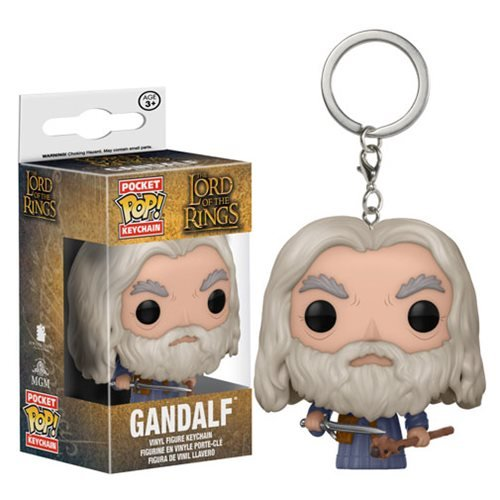 The Lord of the Rings Gandalf Pocket Pop! Key Chain