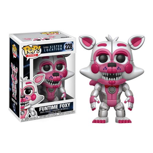 Five Nights Sister Location Funtime Foxy Pop! Figure #228