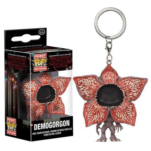 Stranger Things Demogorgon Open Face Pocket Pop! Key Chain