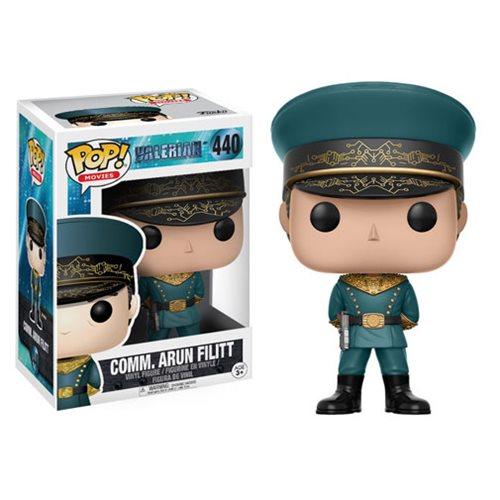 Valerian Commander Arun Filitt Pop! Vinyl Figure