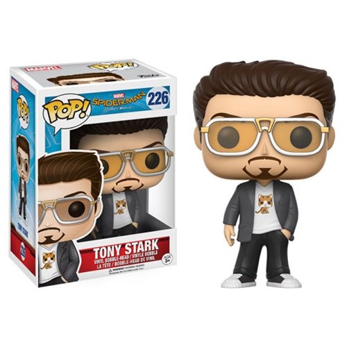 Spider-Man: Homecoming Tony Stark Pop! Vinyl Figure