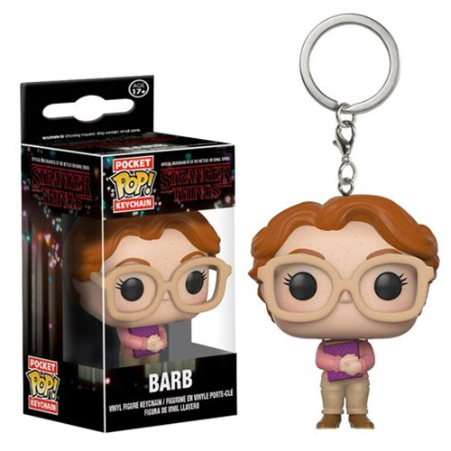 Stranger Things Barb Pocket Pop! Key Chain