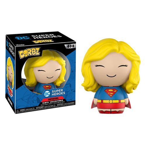 DC Super Heroes Supergirl Dorbz Vinyl Figure #408