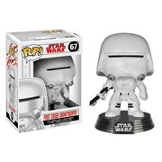 Star Wars: Last Jedi First Order Snowtrooper Pop! Bobble